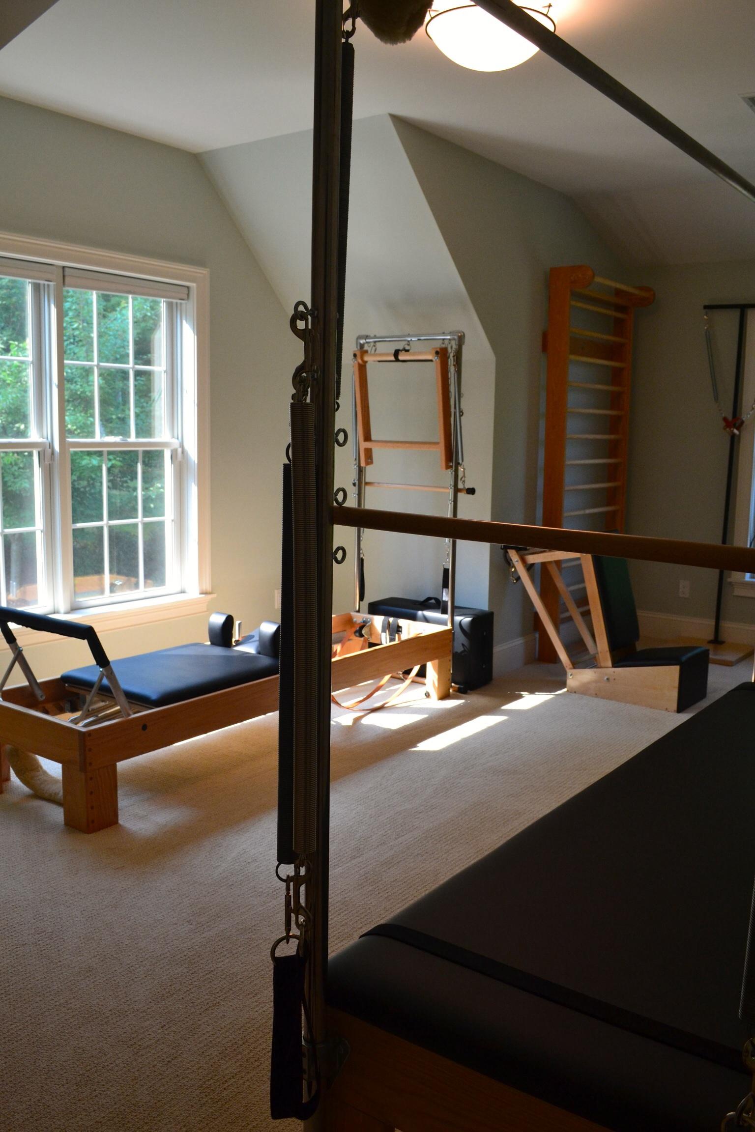 My Pilates studio in Collinsville,CT